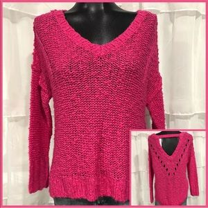 NWT Hollister pink sweater small
